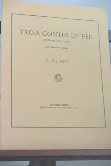 Victory G - 3 Contes de Fee (Fairy Tales) for Clarinet & Piano